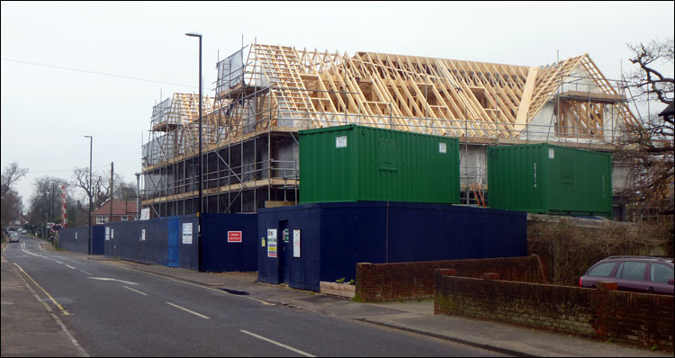 Burgess Hill Construction Photos Junction Pub Turns Into