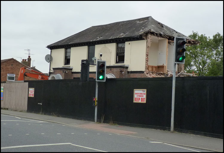Burgess Hill Construction Photos Kings Head Pub Turned