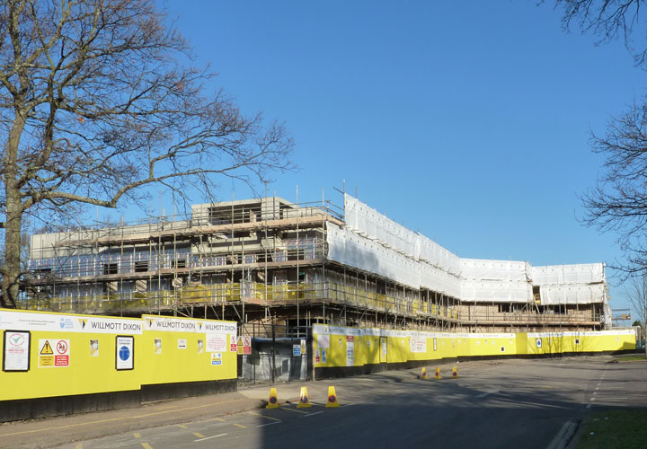 Burgess Hill Construction Photos Woodlands Meed Sen School
