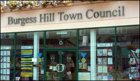 burgess hill town council