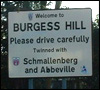 Burgess Hill Town Sign
