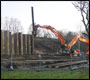 burgess hill railway line landslip repair