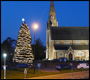 st johns church christmas tree