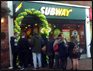 subway burgess hill opens