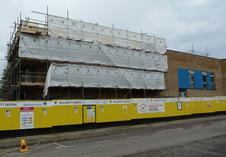 Woodlands Meed Special School Burgess Hill Construction
